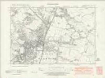 Cheshire XXVIII.NW - OS Six-Inch Map