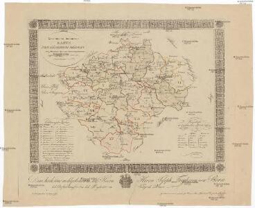 Neue und vollkommene Karte vom Köngreich Böhmen