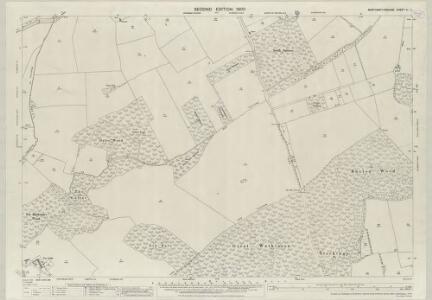 Northamptonshire VI.11 (includes: Duddington; Fineshade; Kings Cliffe; Wakerley) - 25 Inch Map