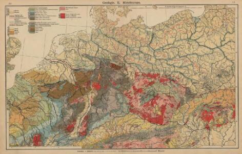 Geologie. II. Mitteleuropa