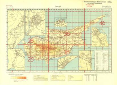 Zypern, Cyprus (Sheet 1)