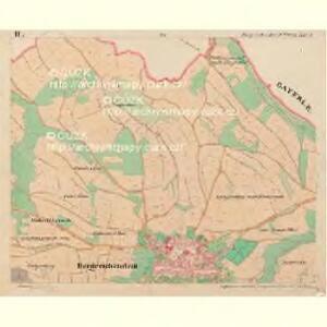 Bergreichenstein - c3068-1-002 - Kaiserpflichtexemplar der Landkarten des stabilen Katasters