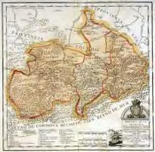 Provincia de la Mancha donde se comprehenden los partidos de Ciudad-Real, Infantes, y Alcaràz