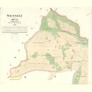 Wessely - c8515-1-002 - Kaiserpflichtexemplar der Landkarten des stabilen Katasters