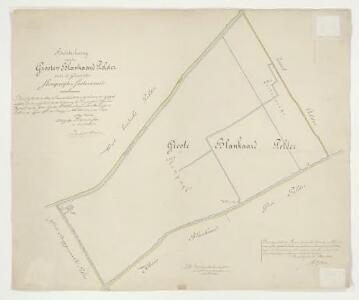 Groote Blankaardpolder, gemeente Stompwijk en Zoeterwoude.