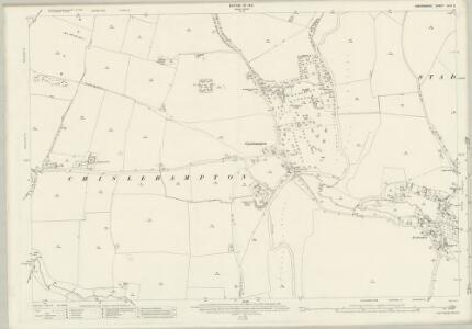 Oxfordshire XLVI.2 (includes: Marsh Baldon; Stadhampton; Toot Baldon) - 25 Inch Map