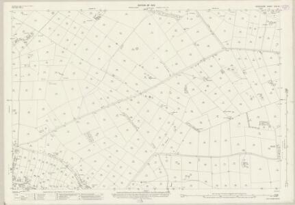 Derbyshire XXIII.13 (includes: Ashford; Monyash; Over Haddon; Sheldon) - 25 Inch Map
