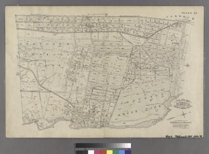 Plate 39: Vanderbilt Avenue, Pelham Avenue, Boston Road, ....
