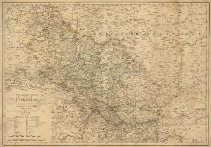 Das Herzogthum Schlesien in Nieder- und Oberschlesien dann in Fürstenthumer eingetheilt nebst der Grafschaft Glatz nach den besten und zuverlässigsten Hülfsmitteln verfasst im Jahr 1809