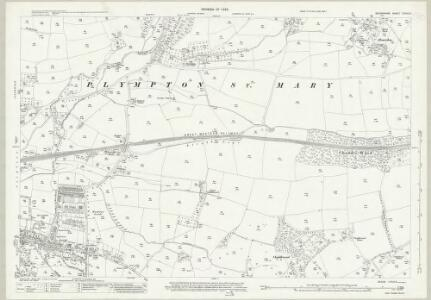 Devon CXXIV.3 (includes: Plympton St Maurice; Sparkwell) - 25 Inch Map