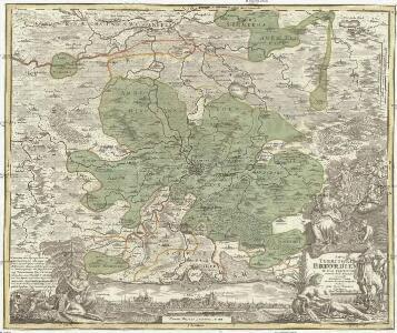 Nova teritorii Erfordien in suas praefecturas accurate divisi descriptio