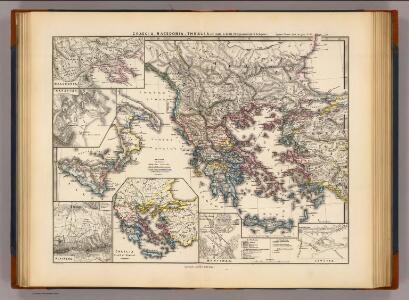 Graecia, Macedonia, Thracia etc. inde a belli Peloponnesiaci tempore.