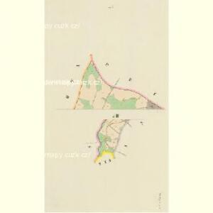 Dlauhey - c1140-1-003 - Kaiserpflichtexemplar der Landkarten des stabilen Katasters