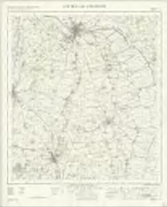 Lincon and Grantham - OS One-Inch Map
