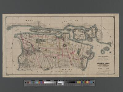 [Long Island City, Queens] Record of searches in relation to the legal status of avenues and streets in the 1st Ward of the Borough of Queens.