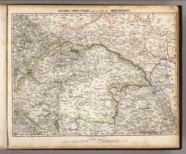 Galizien, Nord-Ungarn, Siebenburgen.