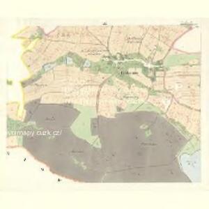 Tuchonitz - c8100-1-003 - Kaiserpflichtexemplar der Landkarten des stabilen Katasters