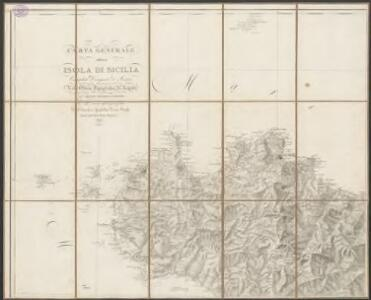 Carta generale della isola di Sicilia