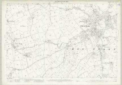 Somerset XII.13 (includes: Chew Stoke; Winford) - 25 Inch Map