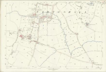 Huntingdonshire XX.15 (includes: Bolnhurst and Keysoe; Kimbolton; Little Staughton; Pertenhall) - 25 Inch Map