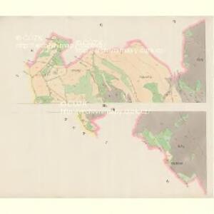 Giesshübel (Wolessnice) - c5448-1-006 - Kaiserpflichtexemplar der Landkarten des stabilen Katasters