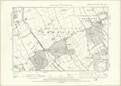 Yorkshire XVI.NW - OS Six-Inch Map