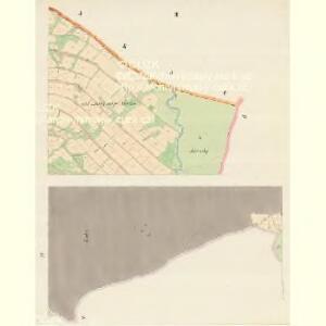 Mosty bei Jablunkau - m1892-1-003 - Kaiserpflichtexemplar der Landkarten des stabilen Katasters