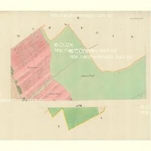 Gross Blatnitz - m0108-1-002 - Kaiserpflichtexemplar der Landkarten des stabilen Katasters