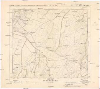 Carta d'Italia con particolari topografici e del catasto