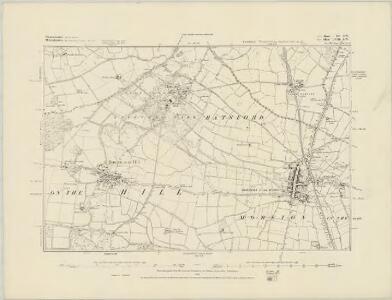 Gloucestershire XIII.NE - OS Six-Inch Map