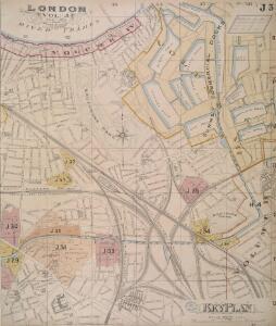 London South East Vol. J: Key Plan