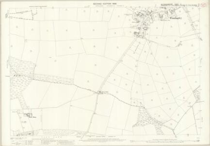 Nottinghamshire III.2 (includes: Auckley; Austerfield; Finningley; Misson) - 25 Inch Map