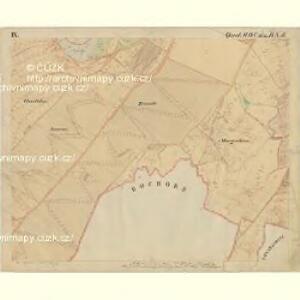 Prerau (Přerow) - m2453-1-017 - Kaiserpflichtexemplar der Landkarten des stabilen Katasters