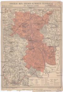 Generální mapa okresního hejtmanství Třeboňského