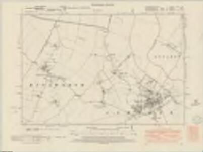 Cambridgeshire LVII.SW - OS Six-Inch Map