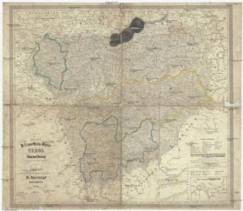 Zoller's Post und Reise-Karte von Tirol und Vorarlberg nach den neuesten Quellen berichtiget