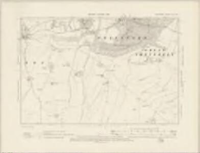 Wiltshire XLV.NE - OS Six-Inch Map