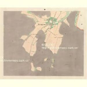 Swanow - m2990-1-003 - Kaiserpflichtexemplar der Landkarten des stabilen Katasters