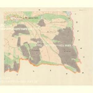 Hermantsch (Hermancz) - m0693-1-003 - Kaiserpflichtexemplar der Landkarten des stabilen Katasters