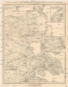 Special-Karte von Nord-Schleswig im Maassstabe 1:150.000