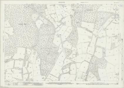 Surrey XL.13 (includes: Abinger; Ewhurst) - 25 Inch Map