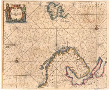 Museumskart 175: Kystkart over Nord-Norge, Russland og Spitsbergen