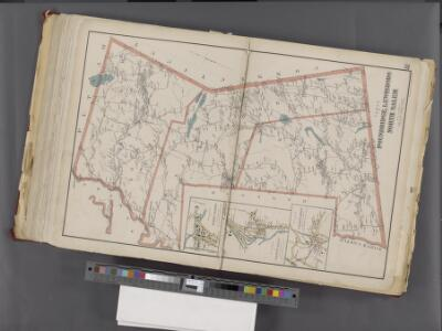 Westchester, Double Page Plate No. 31 [Map of Town of Poundridge, Lewisbord and North Salem] / prepared under the direction of Joseph R. Bien, from general surveys and official records.