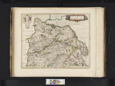 Caricta Borealis, vulgo, The northpart of Carrick / Opus Timothei Pont.