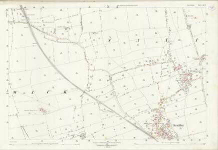 Lincolnshire LX.11 (includes: Hardwick; Saxilby with Ingleby; Torksey) - 25 Inch Map