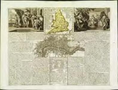 Nouvelle carte du gouvernement civil d'Angleterre et de celuy de la ville de Londres