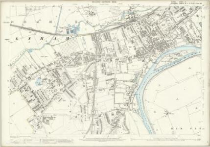 Surrey VI.7 (includes: Ham; Twickenham St Mary The Virgin) - 25 Inch Map
