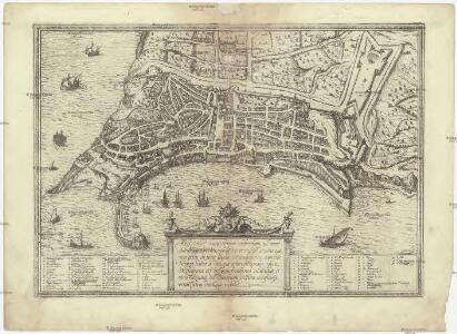 Ancona ciuitas Piceni celeberrima, ad mare Adriaticum posita, nobilißimo portu est ornata, quo non extat in tota Italia commodior neq. capacior