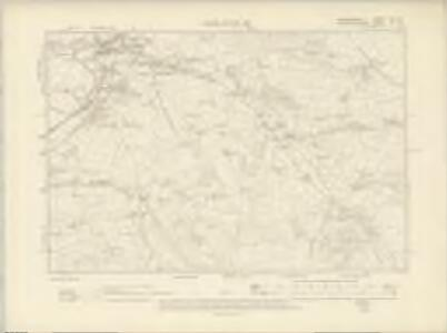 Cardiganshire XLI.SE - OS Six-Inch Map