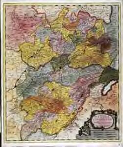 Comitatus Burgundiæ, vulgo la Franche Comté